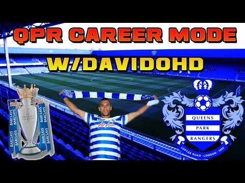 FIFA 15 QPR Career Mode #4 - FIRST GAME!