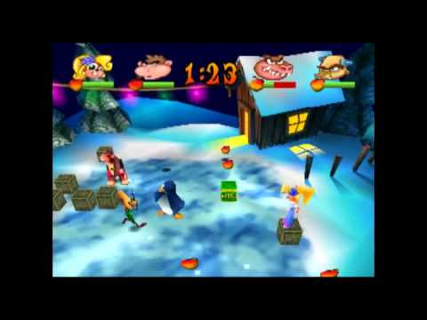 Wikihooded Magister's Terrace - Crash Bash [Coco] [Tournament Mode] [Crate Crush - Snow Bash]