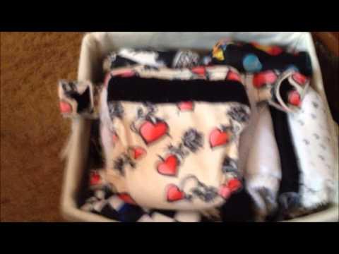 My Toddler Cloth Diaper Stash