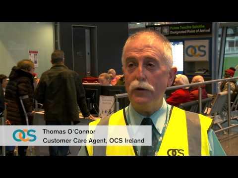 OCS's 1 millionth passenger through Dublin Airport