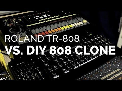 shootout Roland TR-808 vs. DIY 808 clone
