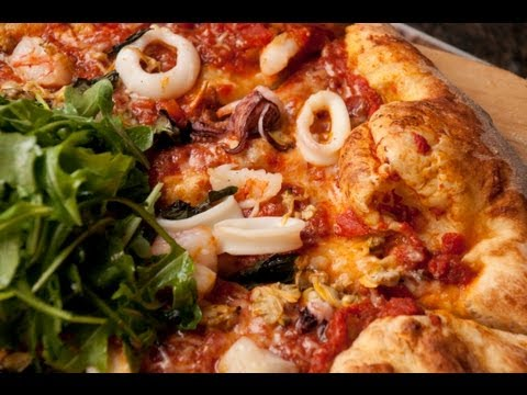 Crab Gravy Seafood Pizza by Chef Terry Owens