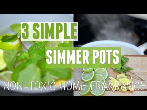 3 Simple Simmer Pot Recipes To Make Your Home Smell Amazing, Naturally!