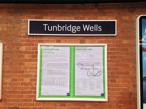 Full Journey on Southeastern from Tunbridge Wells to London Cannon Street