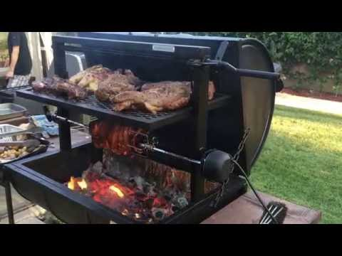 Chaney's....The Best 55 Gallon Barrel  Versatile Grills on the Planet