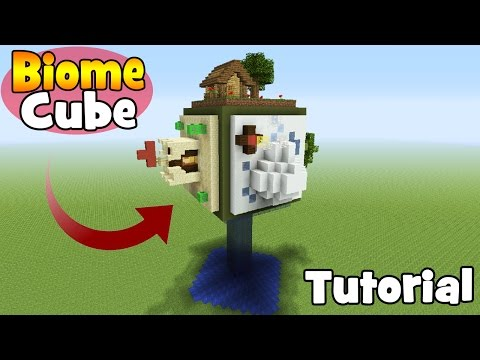 Minecraft Tutorial: How To Make A Biome Cube