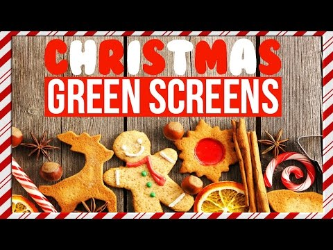 CHRISTMAS TUMBLR GREEN SCREEN PACK!