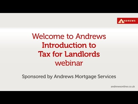 The landlords' guide to tax