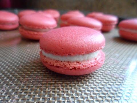 DIY: red velvet french macaron (small batch)
