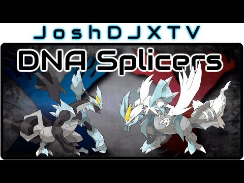 How to get the DNA Splicers in Pokemon X and Y (White Kyurem + Black Kyurem)