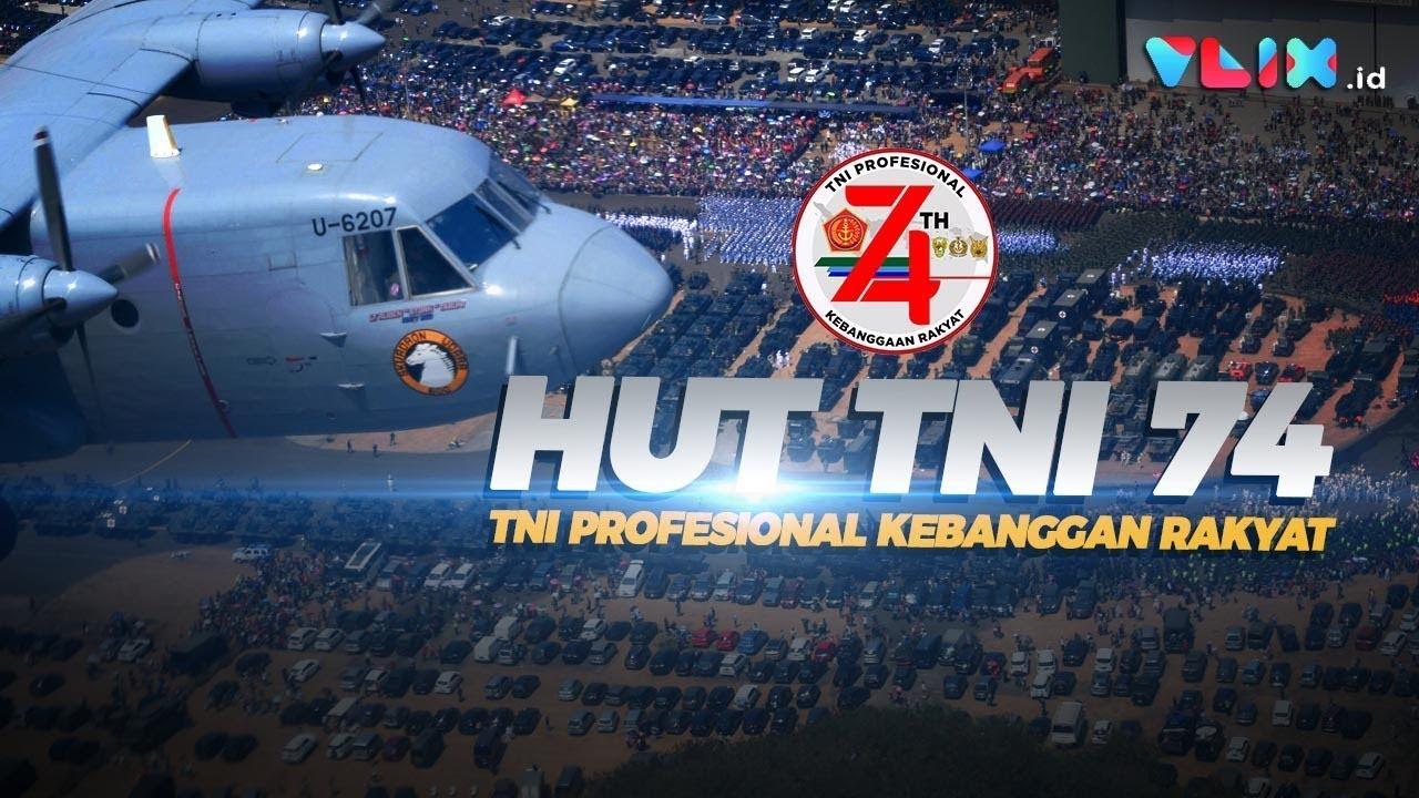 """Dibikin """"MELONGO"""" Nonton Atraksi di HUT TNI Ke-74"""
