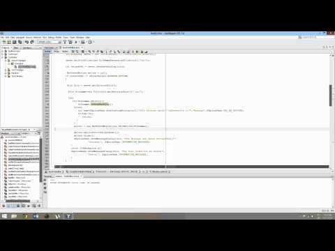 Java Text Editor
