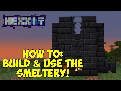 How To: Build & Use The Smeltery! [Tinkers Construct]