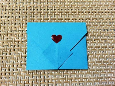 Easy Origami Envelope