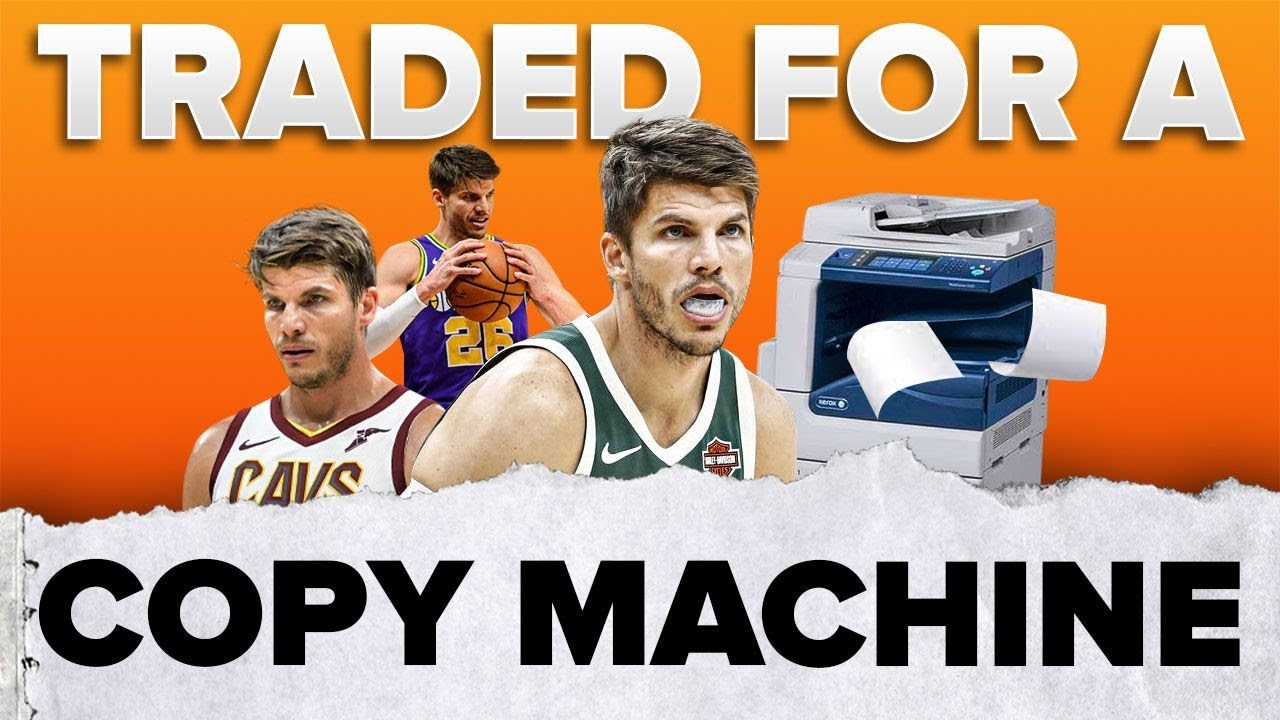 Kyle Korver was traded for a Copy Machine 🤦🏻♂️ | #shorts