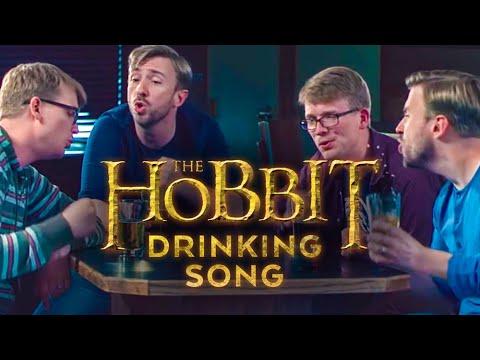 Hobbit Drinking Medley - Peter Hollens feat. Hank Green!!