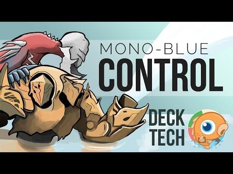 Instant Deck Tech: Mono-Blue Control (Standard)