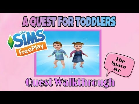 The Sims Freeplay - A Quest for toddlers Quest Walkthrough