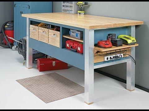 Free Plans - Power tool Workbench!