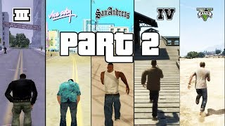 SBS Comparison of GTA games! (GTA 3 vs VC vs SA vs IV vs V) - PART 2