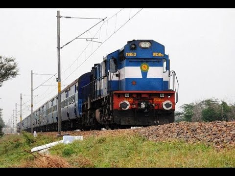 TRAIN SOUND EFFECTS in India PART 1