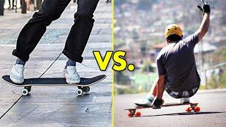Skateboarding vs. Longboarding #2 (Wins & Fails)