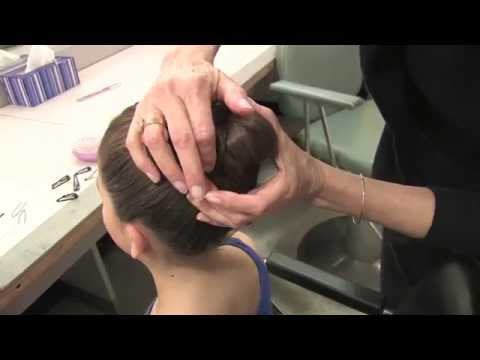 The Washington School of Ballet Hair Bun Technique for Thick Hair