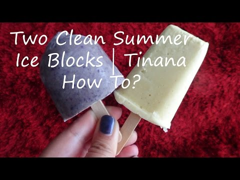 Two Clean Summer Ice Blocks | Tinana How To?