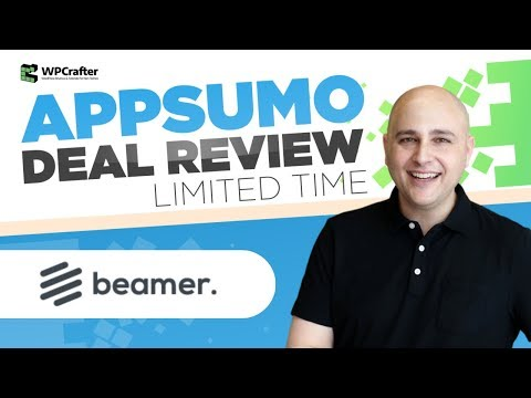 Beamer Review & Tutorial On How To Get It Working In WordPress Exactly Like WPCrafter