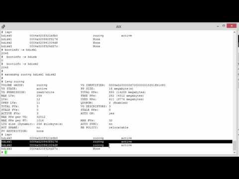 How to Patch AIX 6.1 LPAR