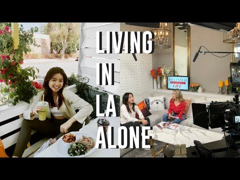 VLOG 3: Living in LA Alone as a Teenage Entrepreneur  // Meetings, Filming, Clients