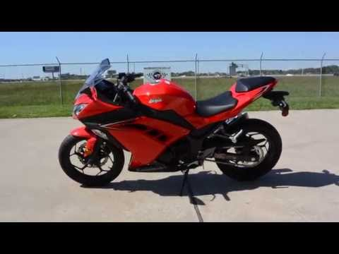 SALE $4,399:  2016 Kawasaki Ninja 300 ABS in Passion Red Overview and Review