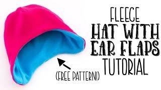 c7f0e0b061d 05 50 · Fast Fleece Hat with Ear Flaps DIY (free pattern)