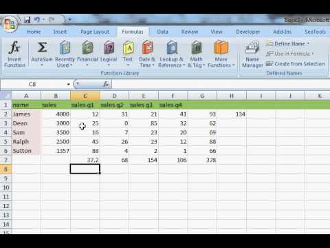 WIA - 8 - excel using basic math functions in excel