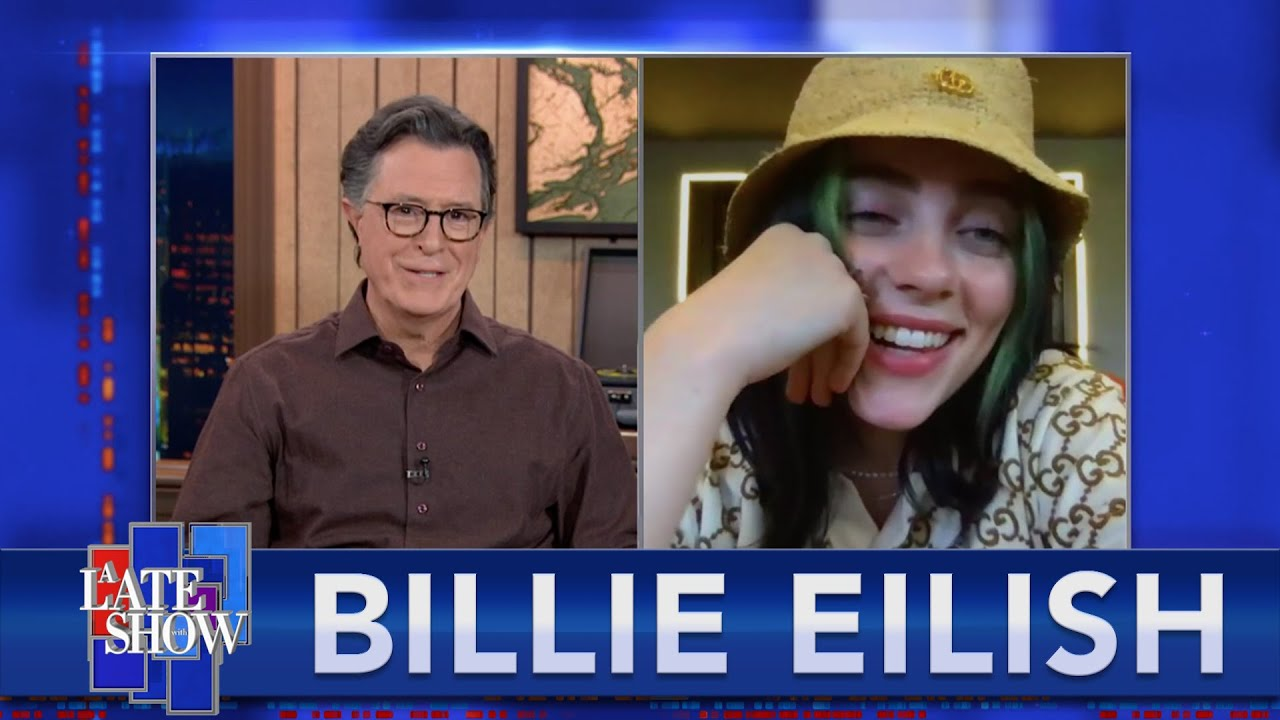 """You're Seeing A Sliver Of My Life At That Time"" - Billie Eilish Talks To Stephen Colbert - EXTENDED"
