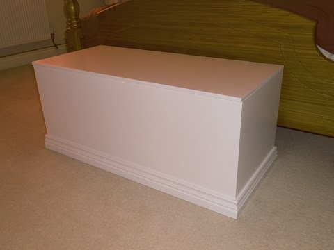 Making a blanket chest