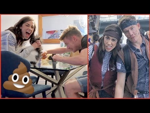 CUTTING POOP OFF MY CAT & A PIRATE ADVENTURE!