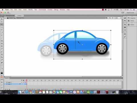 Graphics and Movie Clips in Adobe Flash Animate