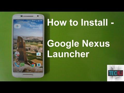 How To Install Google Nexus/Pixel Launcher