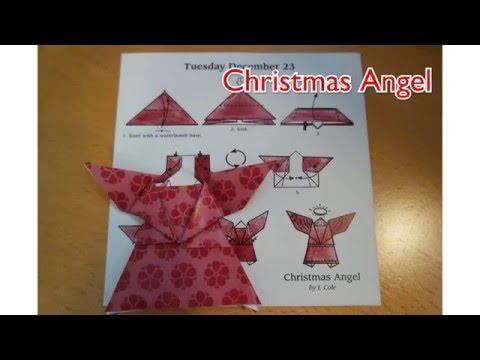 Christmas Origami 2015 | Christmas Angel