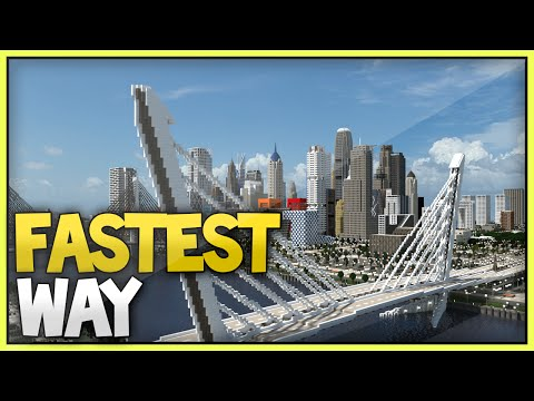 Minecraft Fastest Way to Start/Build a Modern City - 2015 (Xbox360/Ps3/XboxOne/Ps4)