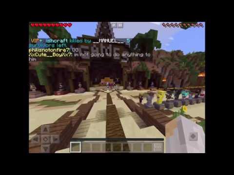 Flying?! Mcpe survival/hunger games server