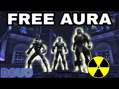 DC Universe Online- How To Get Free Slim White Aura(TUTORIAL NO MONEY)