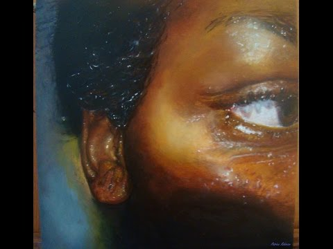 How to: Paint Dark Skin Tones -  Oil Painting (People of Color) - PatDowArt