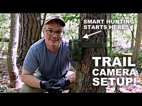 Trail Camera Setup! Smart Hunting Starts Here