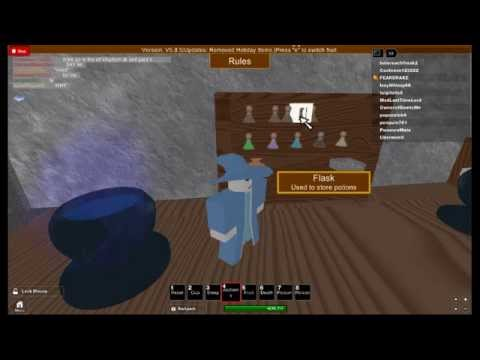 how to make poison and death potions on kingdom life 2 on roblox