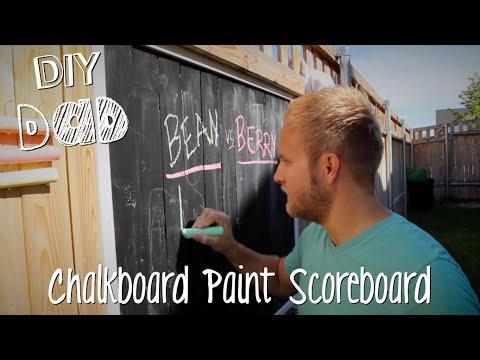 BACKYARD SCOREBOARD + BIG ANNOUNCEMENT!   DIY Dad: epoddle