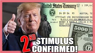 STIMULUS UPDATE: Second Stimulus Check after Trump Confirms | May 25