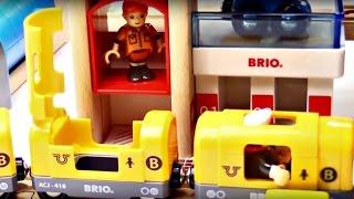 Vidéo En Français Pour Enfants : Train Brio Et Les Bus Tayo