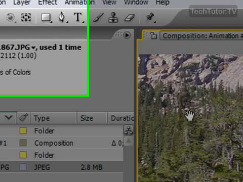 Use the Zoom Tool in After Effects CS3